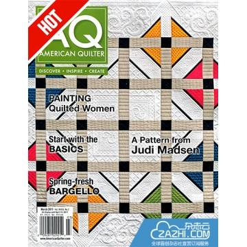 Quiltmakers订阅封面