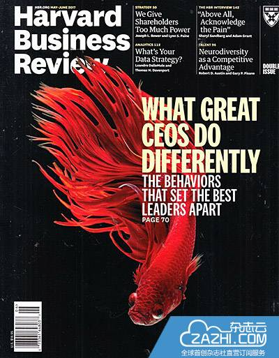 哈佛商业评论/Harvard Business Review(美国)